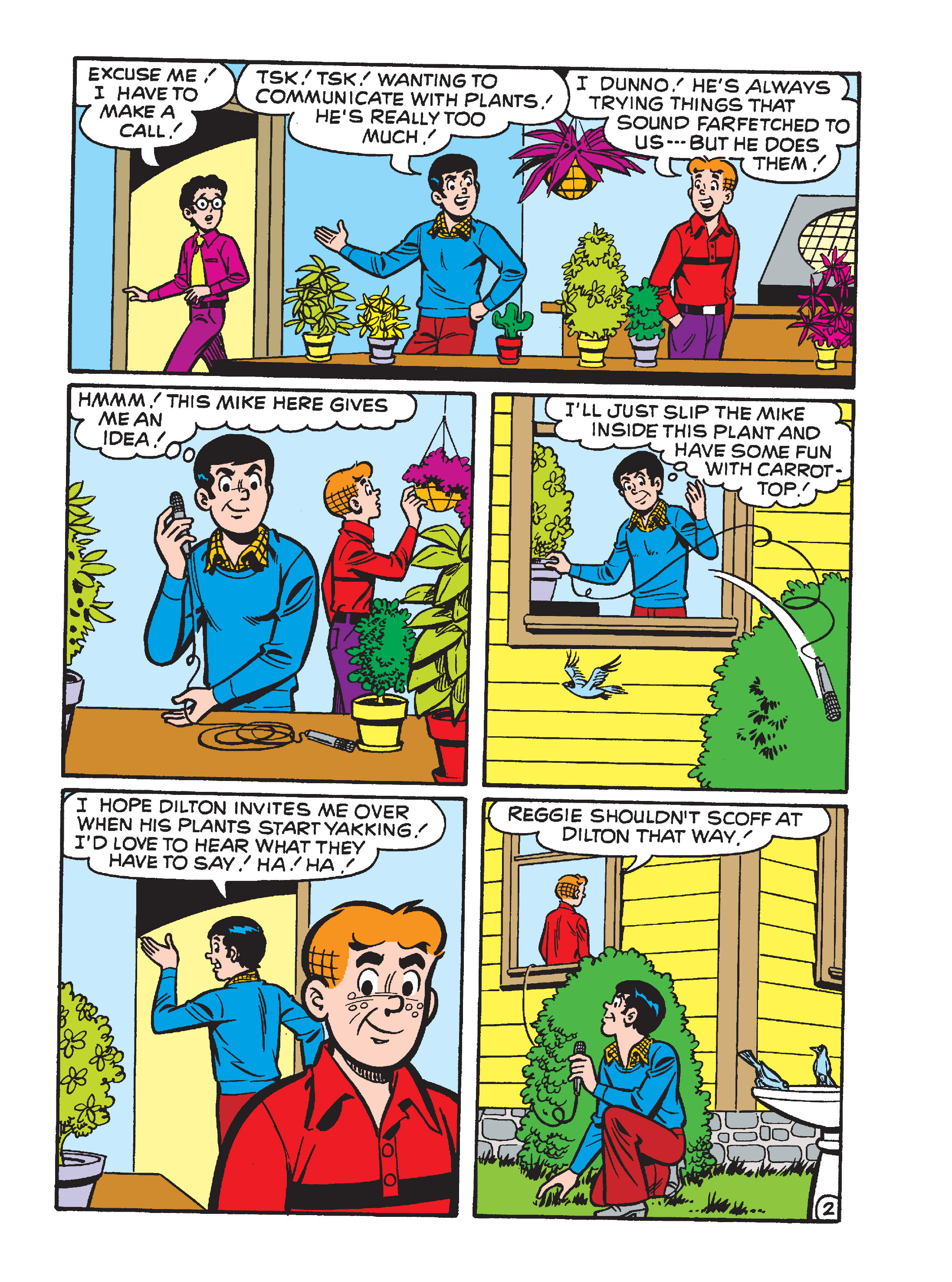 Read online Archie's Funhouse Double Digest comic -  Issue #15 - 99