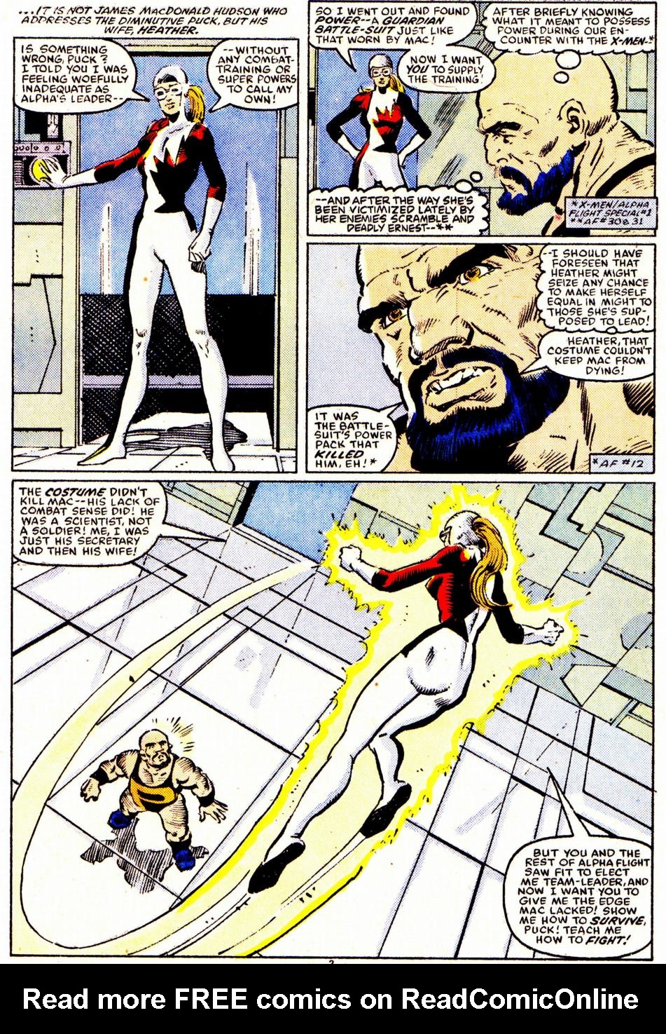 Read online Alpha Flight (1983) comic -  Issue #32 - 3