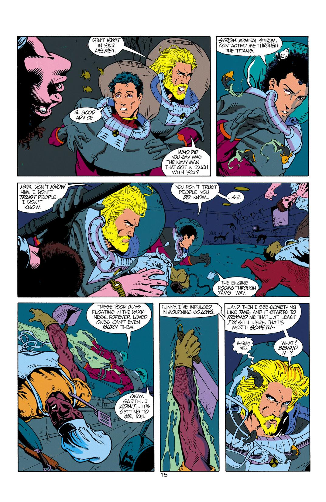 Read online Aquaman (1994) comic -  Issue #1 - 16