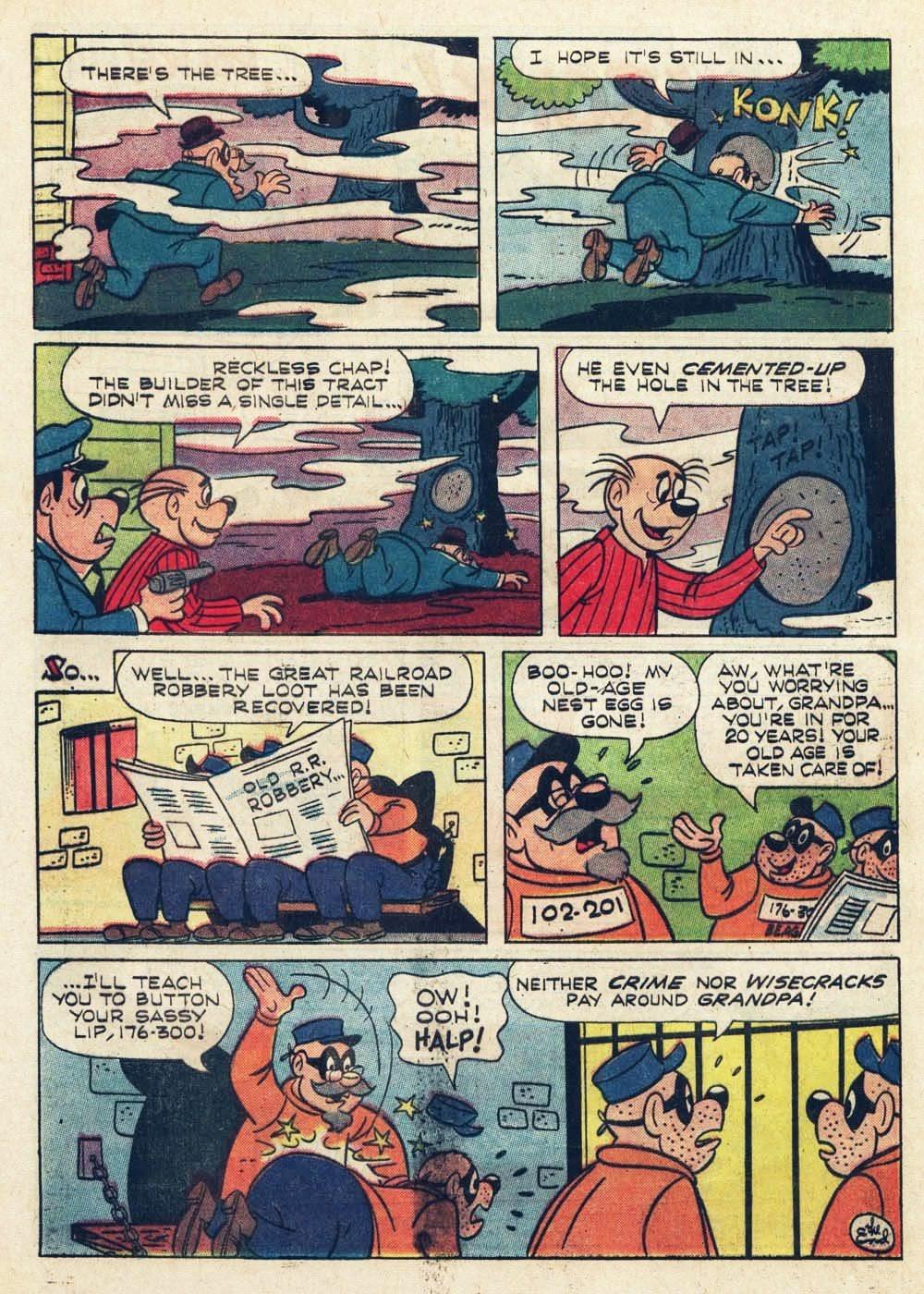 Walt Disney THE BEAGLE BOYS issue 6 - Page 32