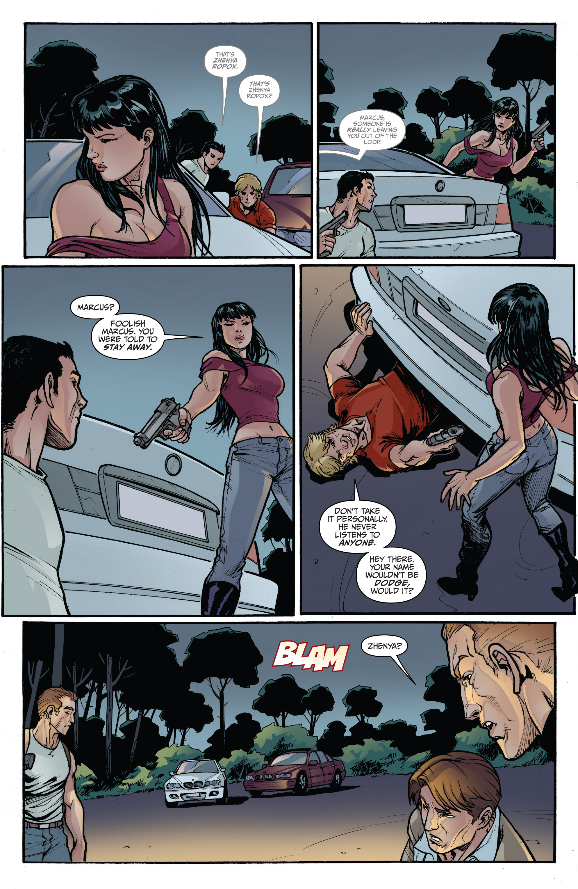 Read online 3 Guns comic -  Issue #3 - 17