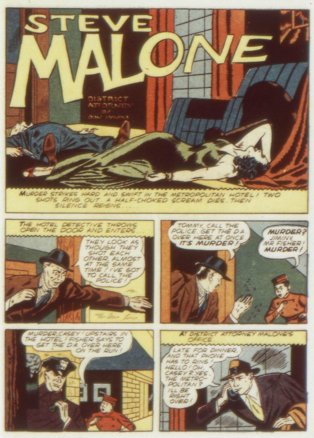 Read online Detective Comics (1937) comic -  Issue #58 - 51