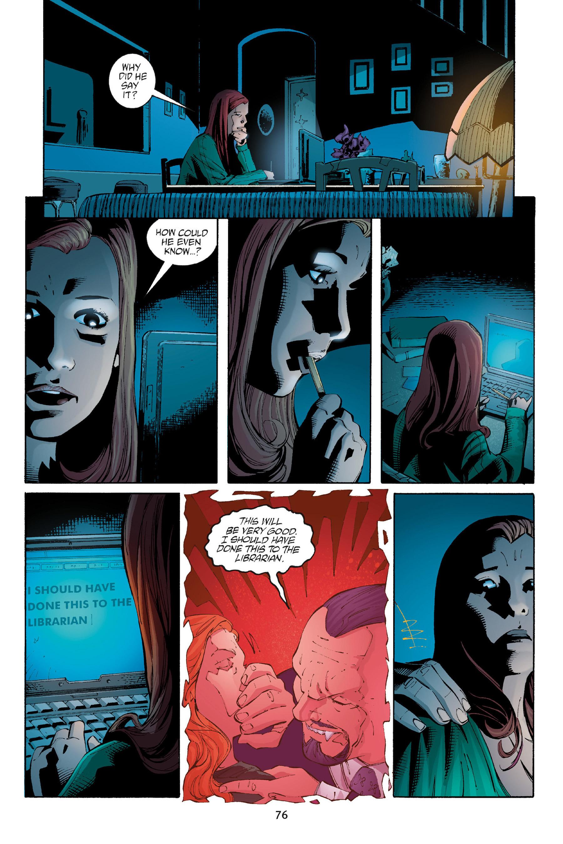 Read online Buffy the Vampire Slayer: Omnibus comic -  Issue # TPB 5 - 77