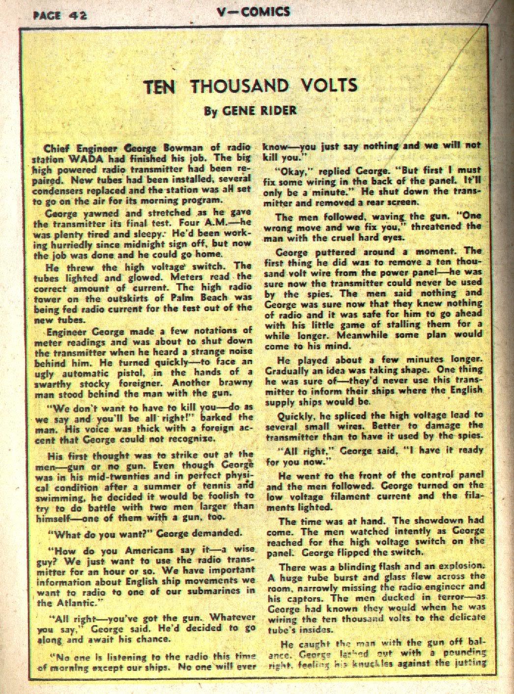 Read online V...- Comics comic -  Issue #1 - 43