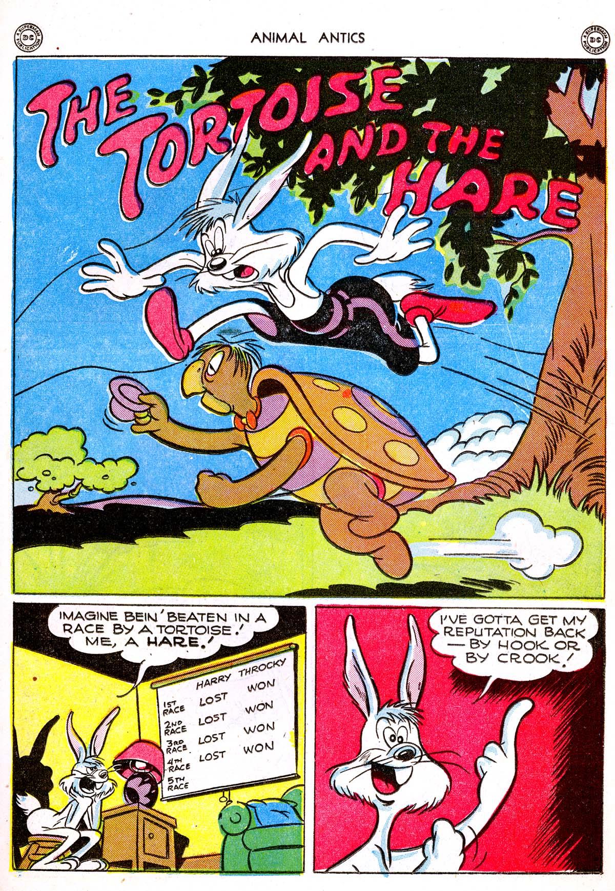 Read online Animal Antics comic -  Issue #1 - 21