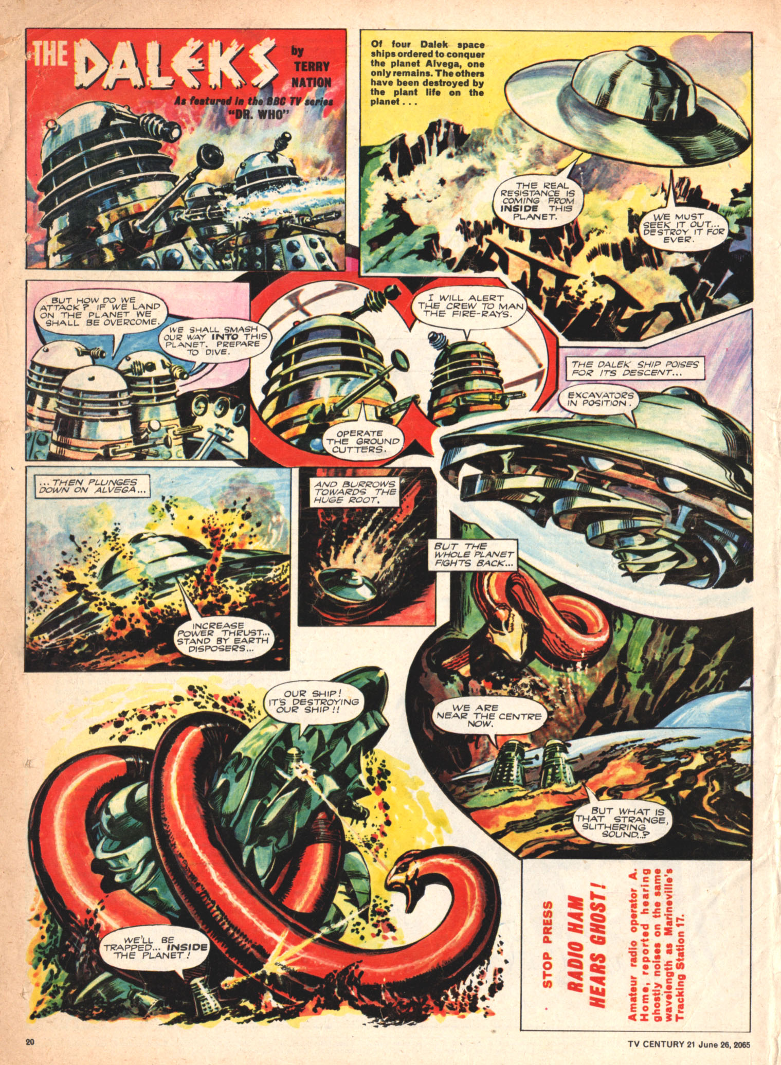 Read online TV Century 21 (TV 21) comic -  Issue #23 - 19