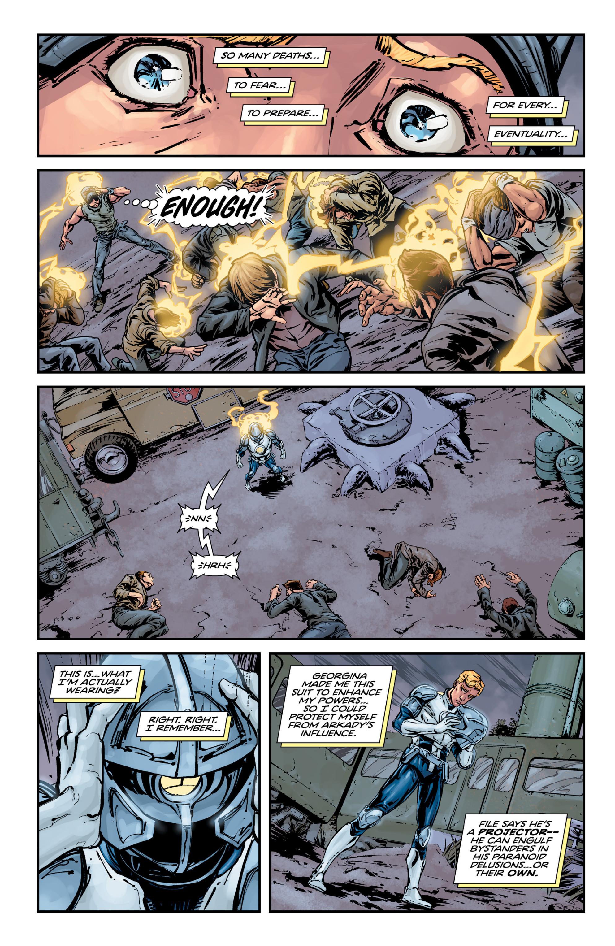 Read online Brain Boy:  The Men from G.E.S.T.A.L.T. comic -  Issue # TPB - 72