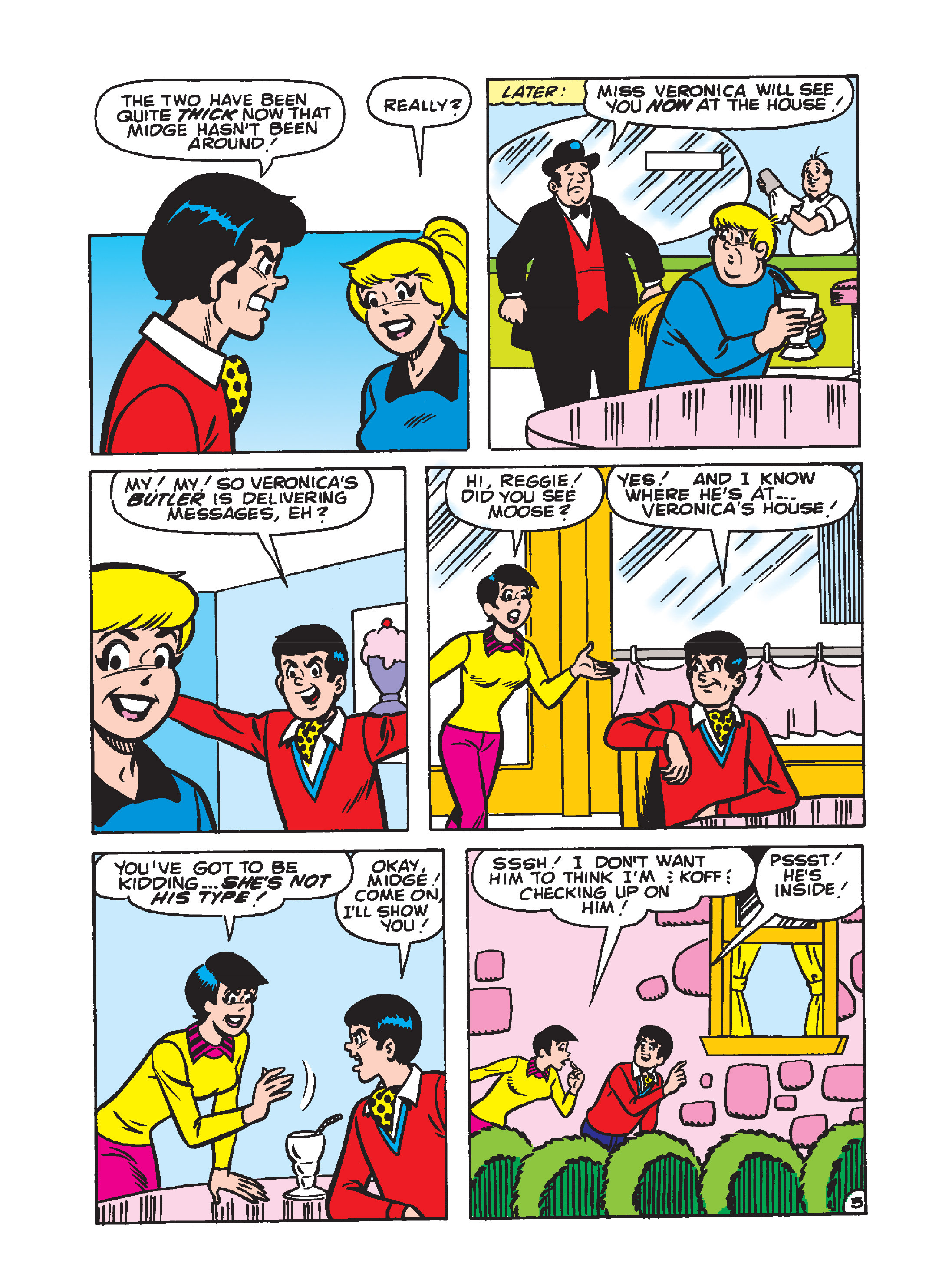Read online Archie's Funhouse Double Digest comic -  Issue #1 - 80