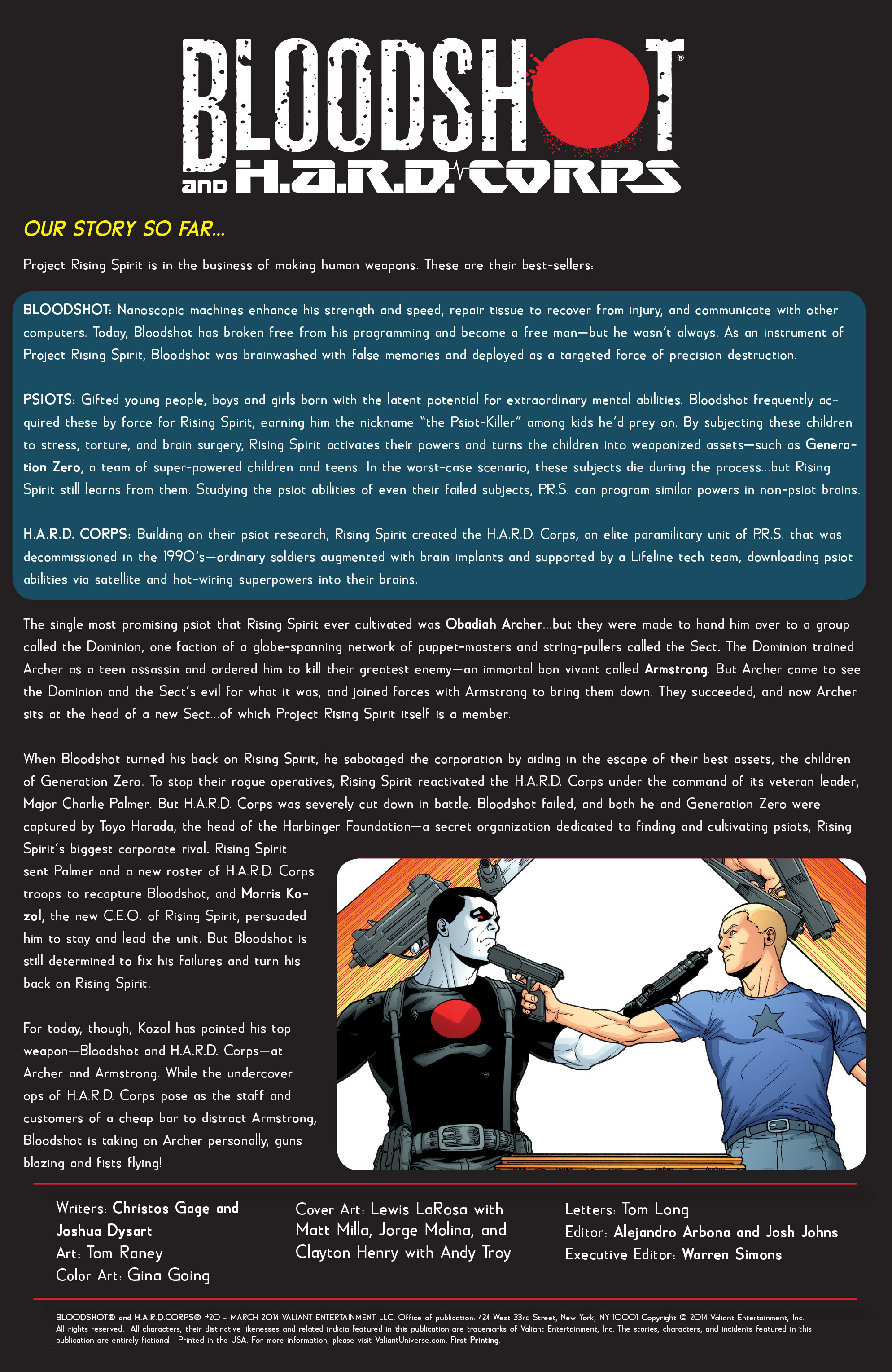 Read online Bloodshot and H.A.R.D.Corps comic -  Issue #20 - 2