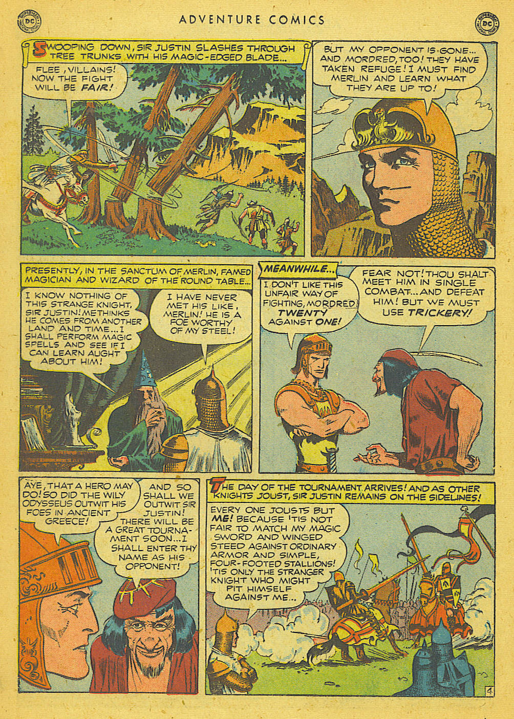 Read online Adventure Comics (1938) comic -  Issue #153 - 19