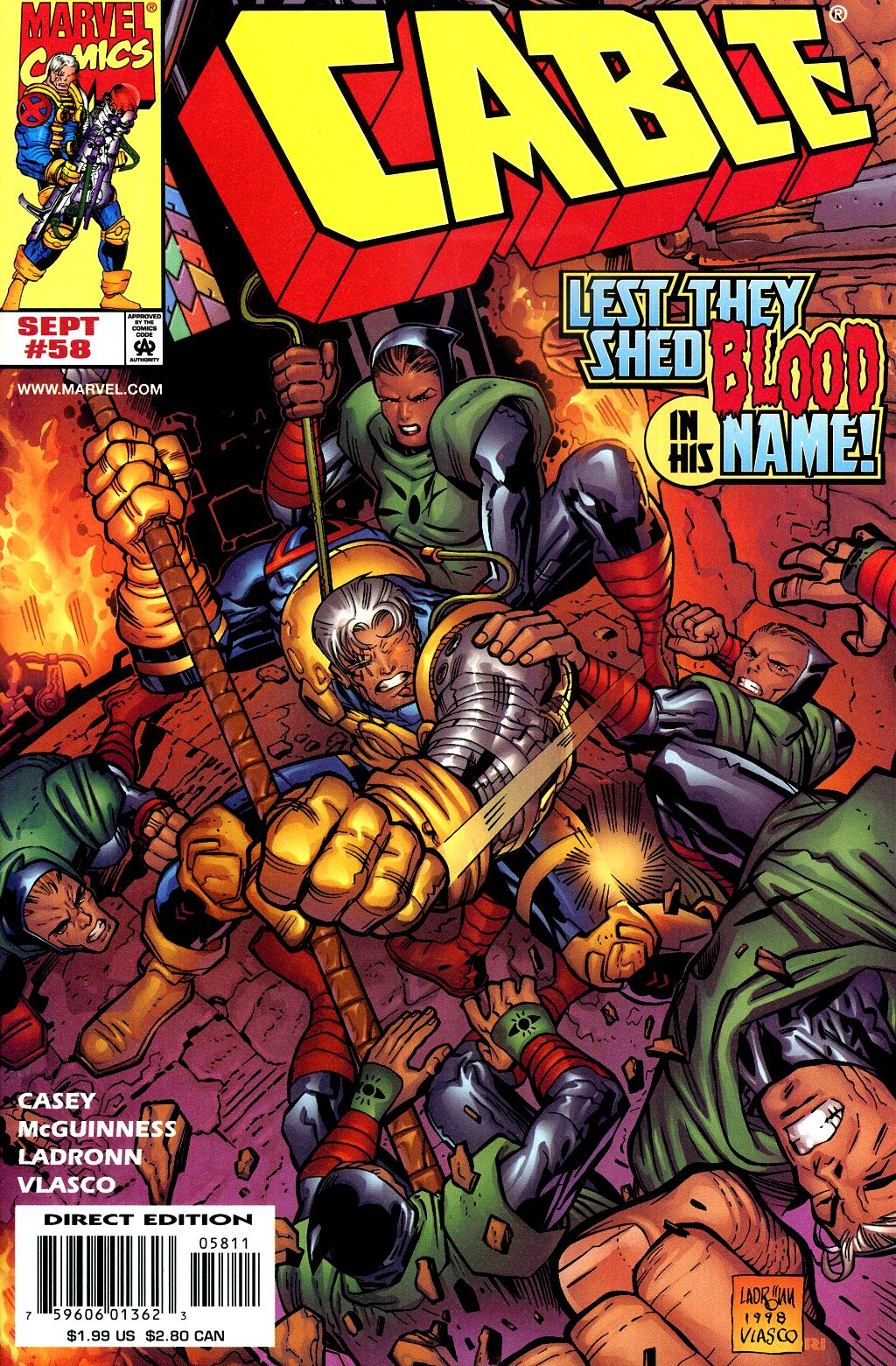 Cable (1993) 58 Page 1