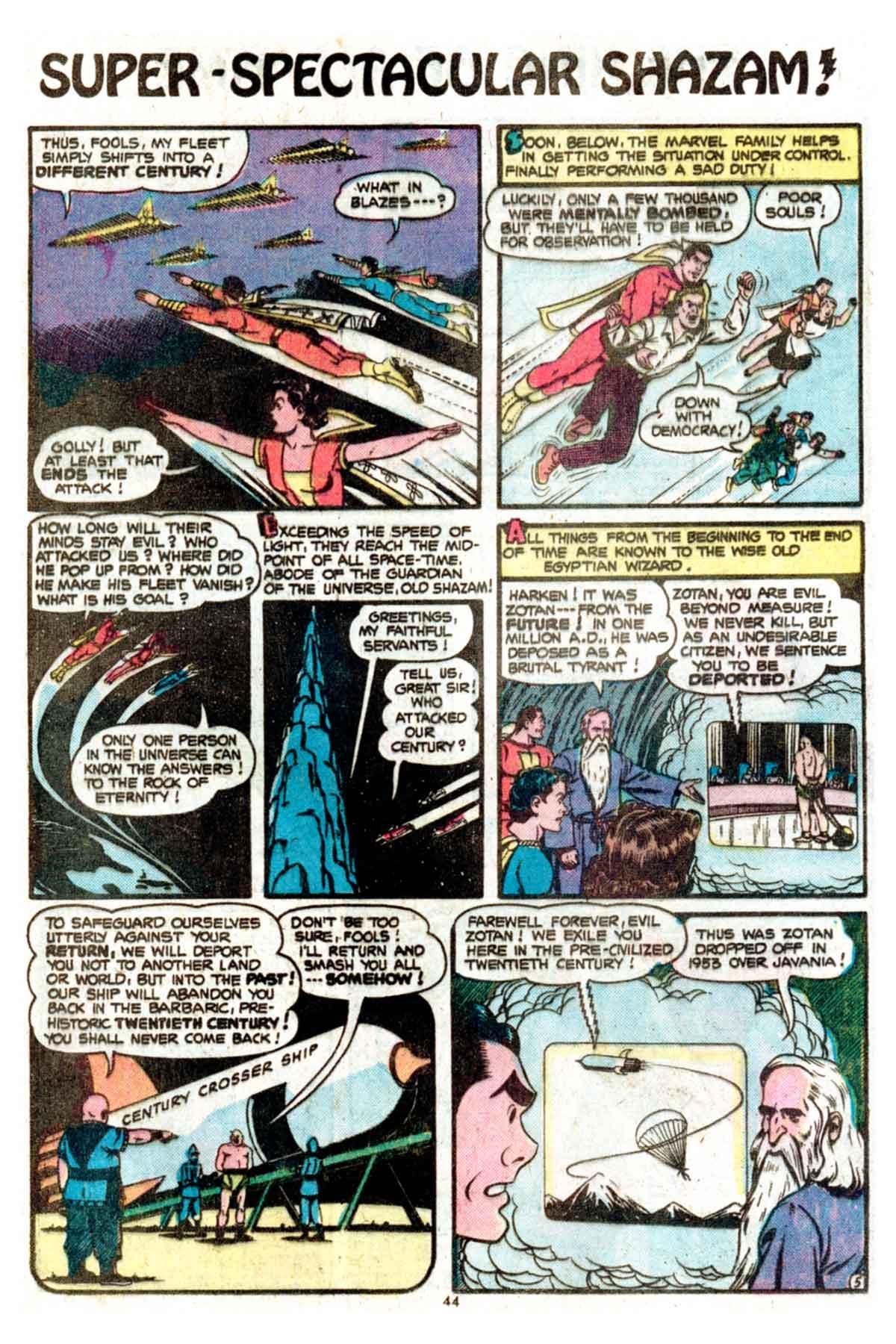 Read online Shazam! (1973) comic -  Issue #15 - 44