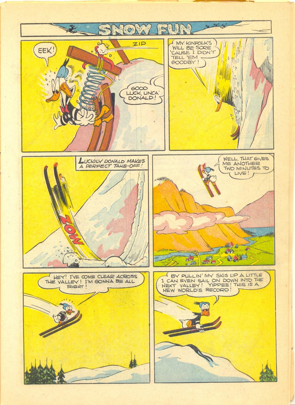 Walt Disney's Comics and Stories issue 40 - Page 11
