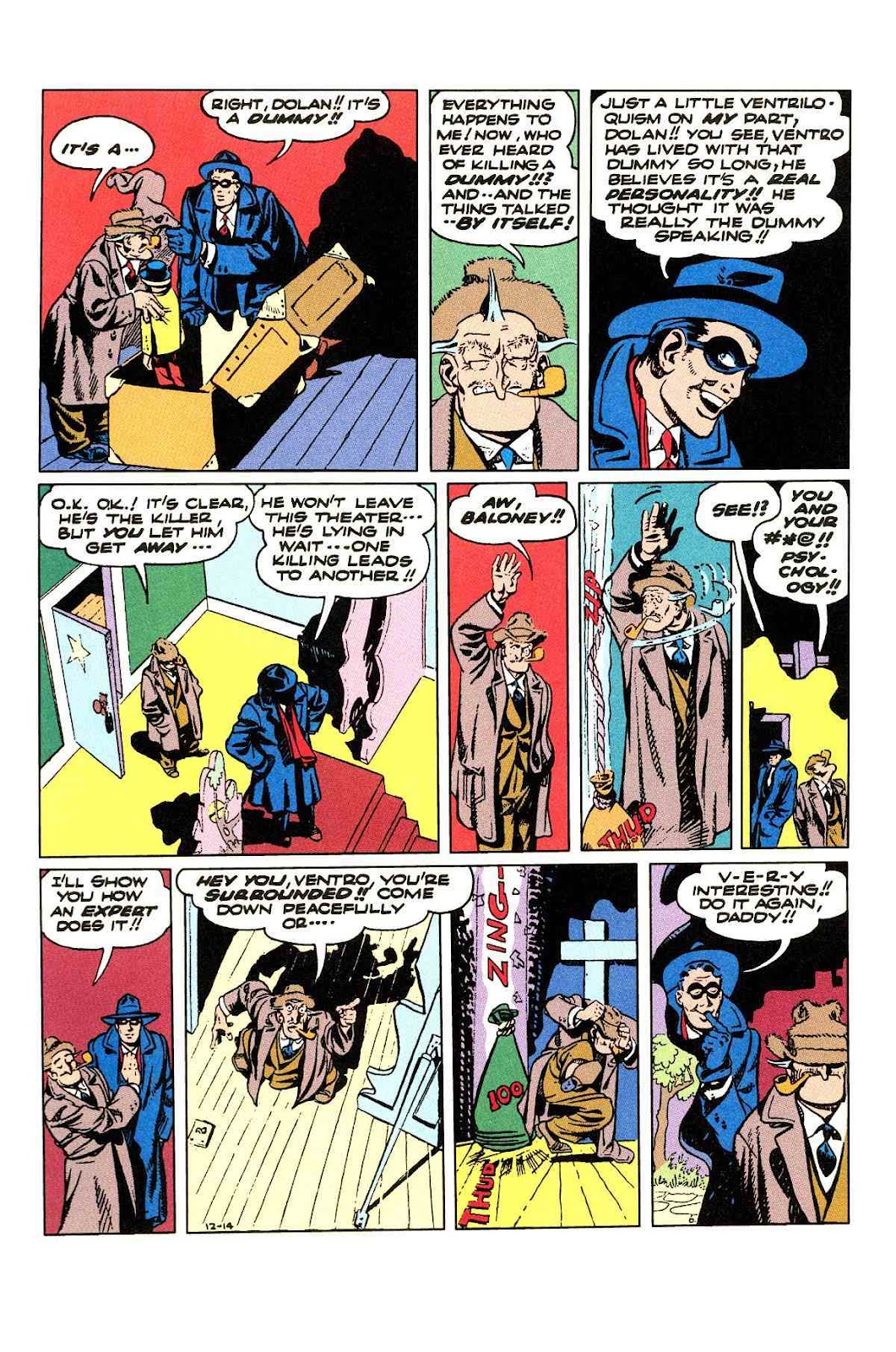 Read online Will Eisner's The Spirit Archives comic -  Issue # TPB 3 (Part 2) - 91