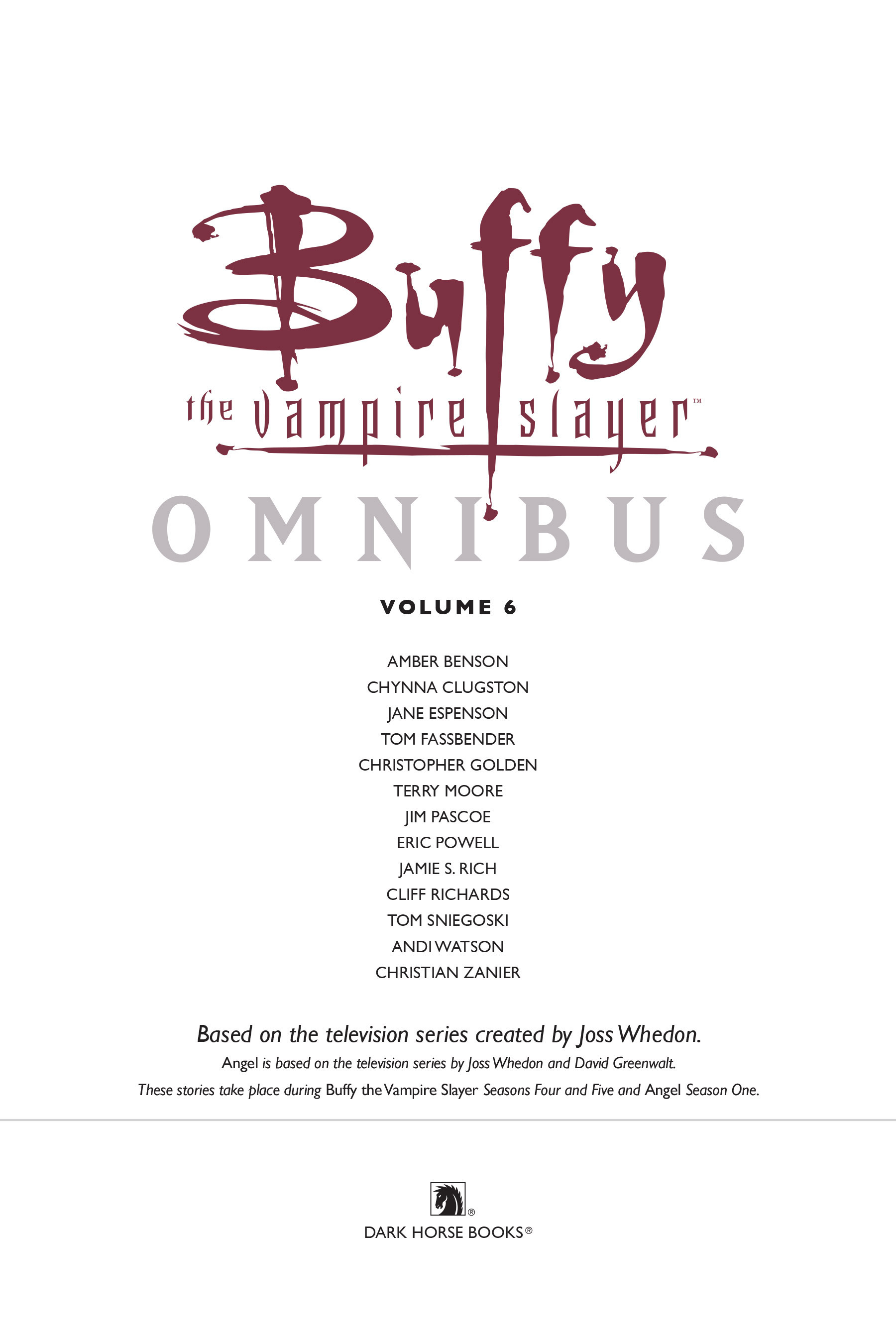 Read online Buffy the Vampire Slayer: Omnibus comic -  Issue # TPB 6 - 4