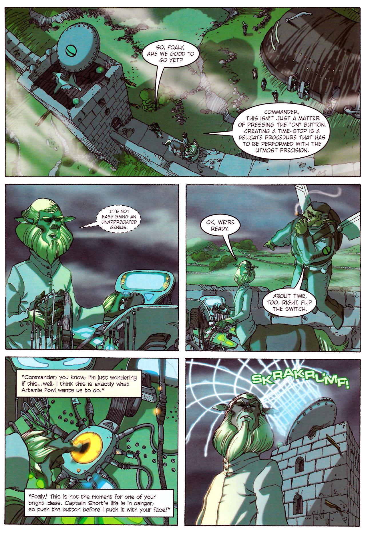 Read online Artemis Fowl: The Graphic Novel comic -  Issue #Artemis Fowl: The Graphic Novel Full - 61