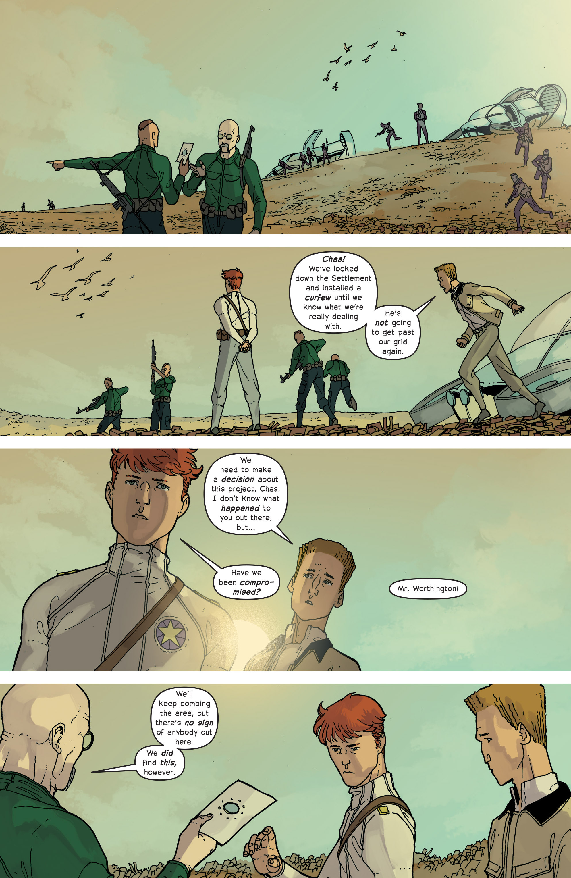 Read online Great Pacific comic -  Issue #13 - 21