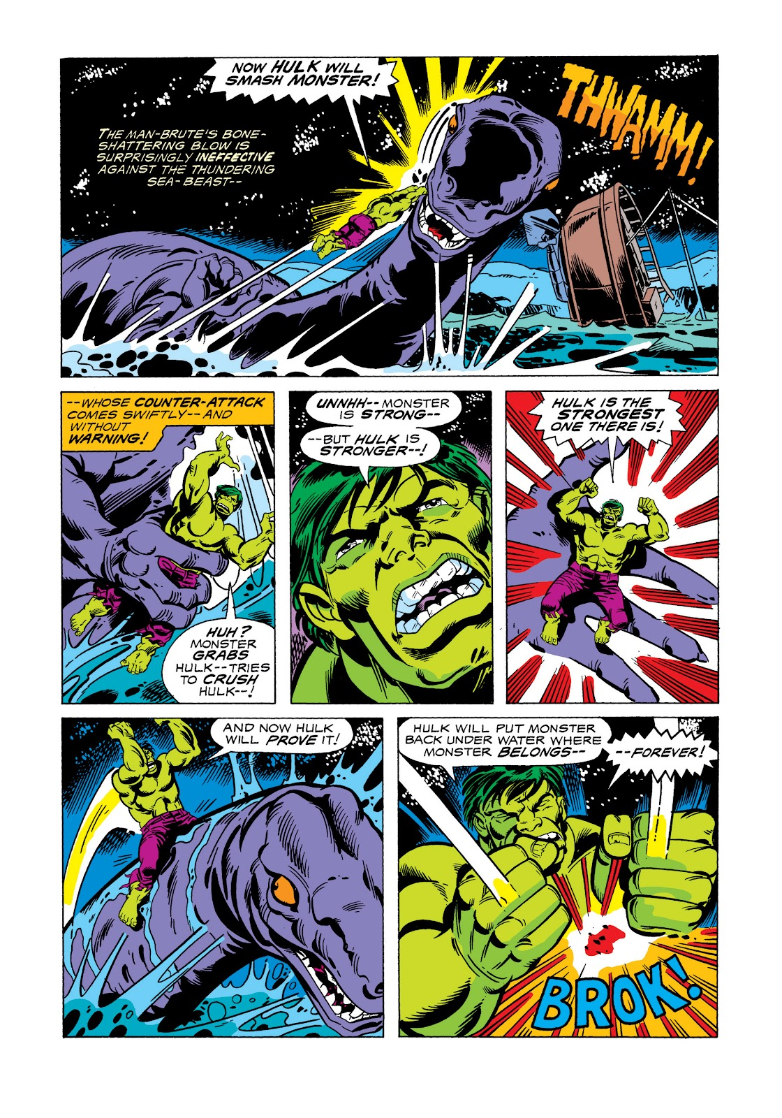 Read online Marvel Masterworks: The Incredible Hulk comic -  Issue # TPB 11 (Part 2) - 73