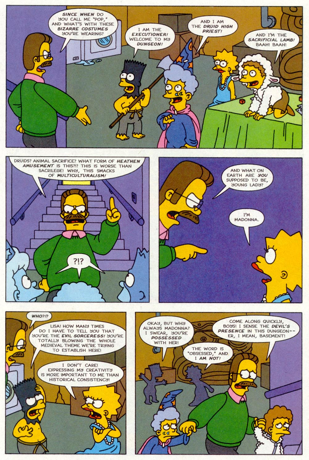 Read online Treehouse of Horror comic -  Issue #2 - 20