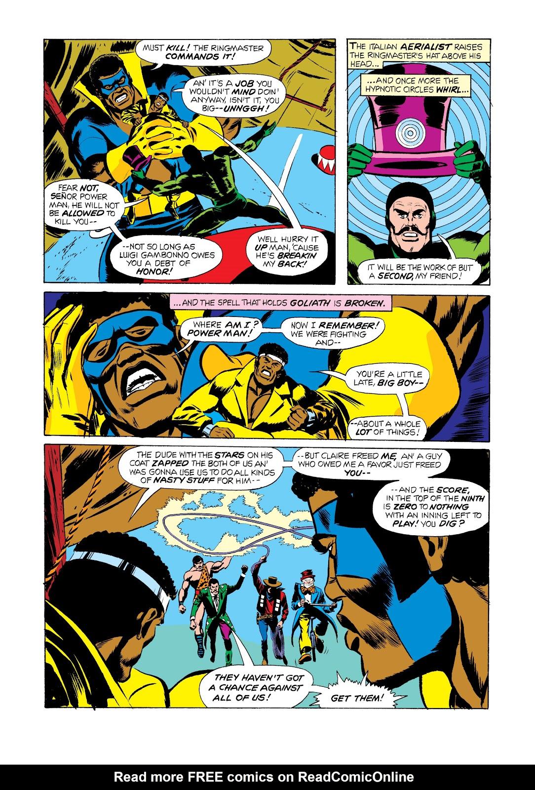 Read online Marvel Masterworks: Luke Cage, Power Man comic -  Issue # TPB 2 (Part 2) - 75