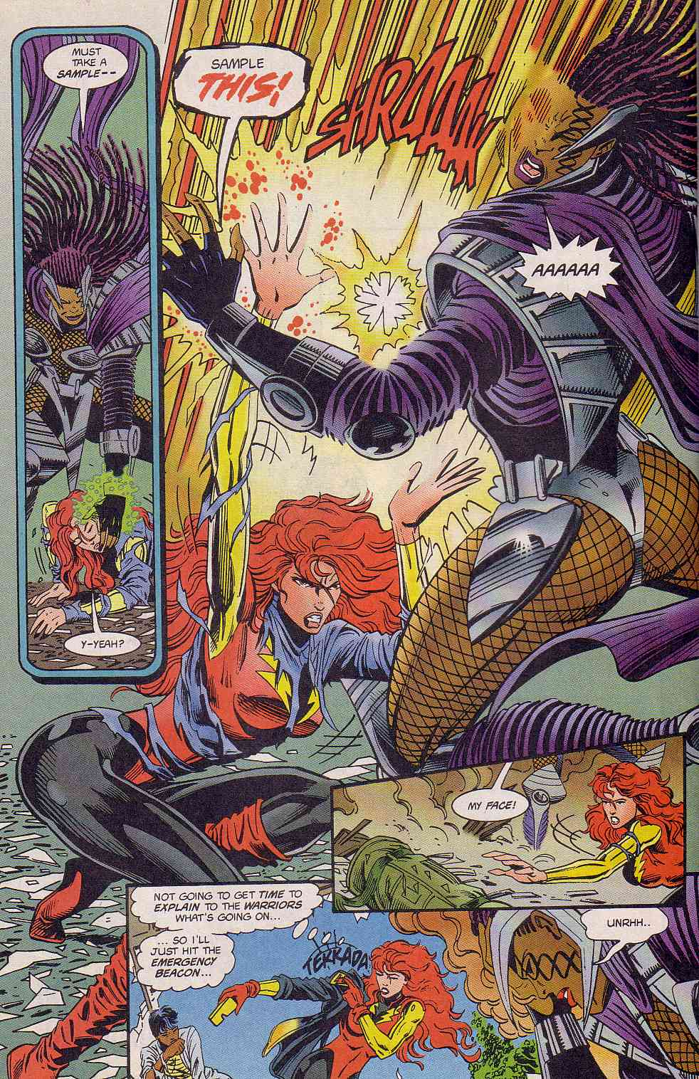 The New Warriors Issue #63 #67 - English 16