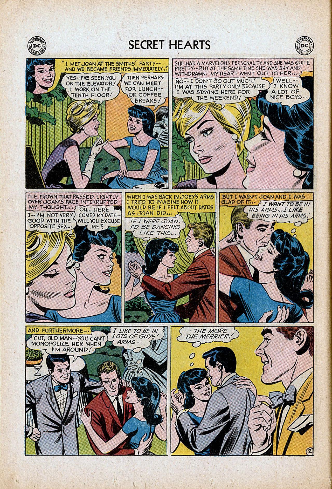 Read online Secret Hearts comic -  Issue #86 - 28