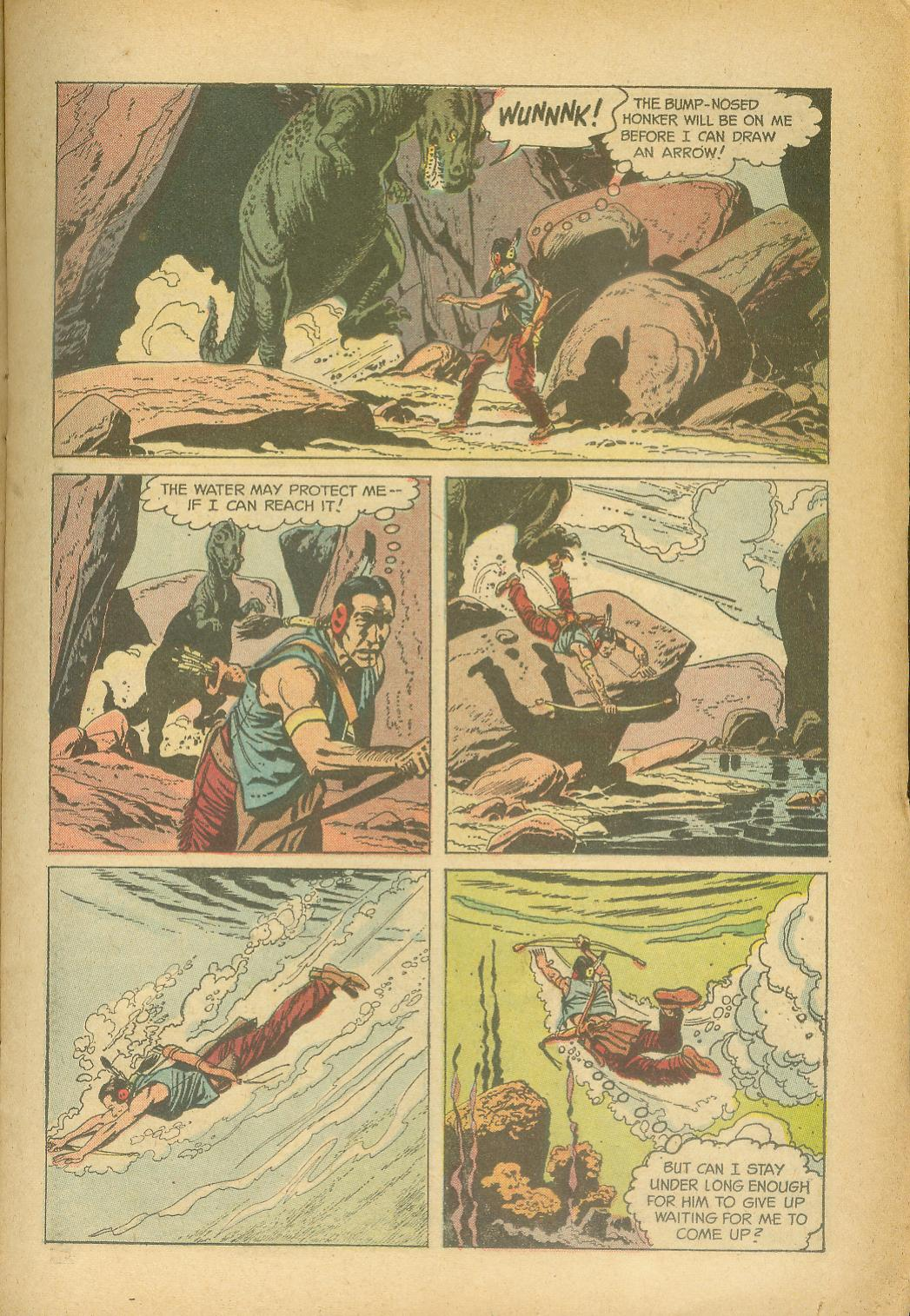 Read online Turok, Son of Stone comic -  Issue #24 - 15