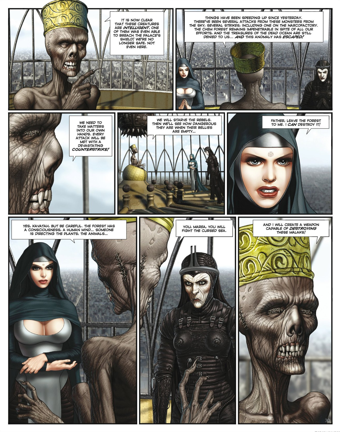 Read online Megalex (2014) comic -  Issue #2 - 32