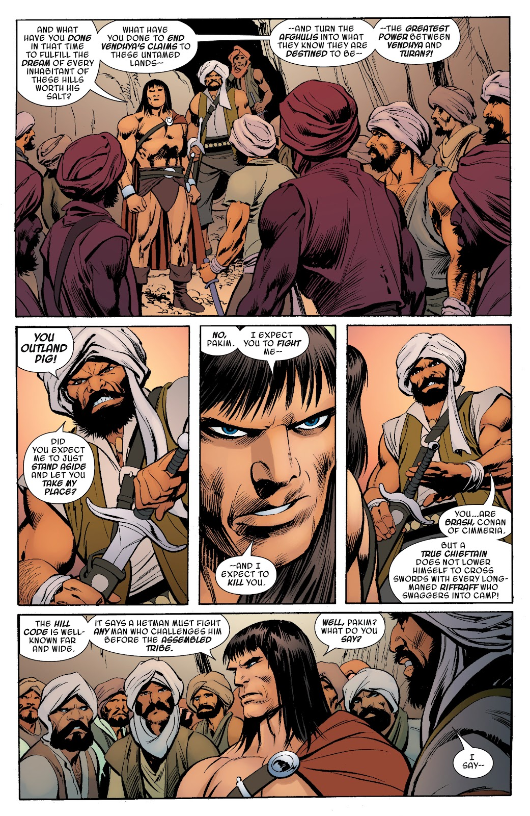 Read online Savage Sword of Conan comic -  Issue #10 - 18