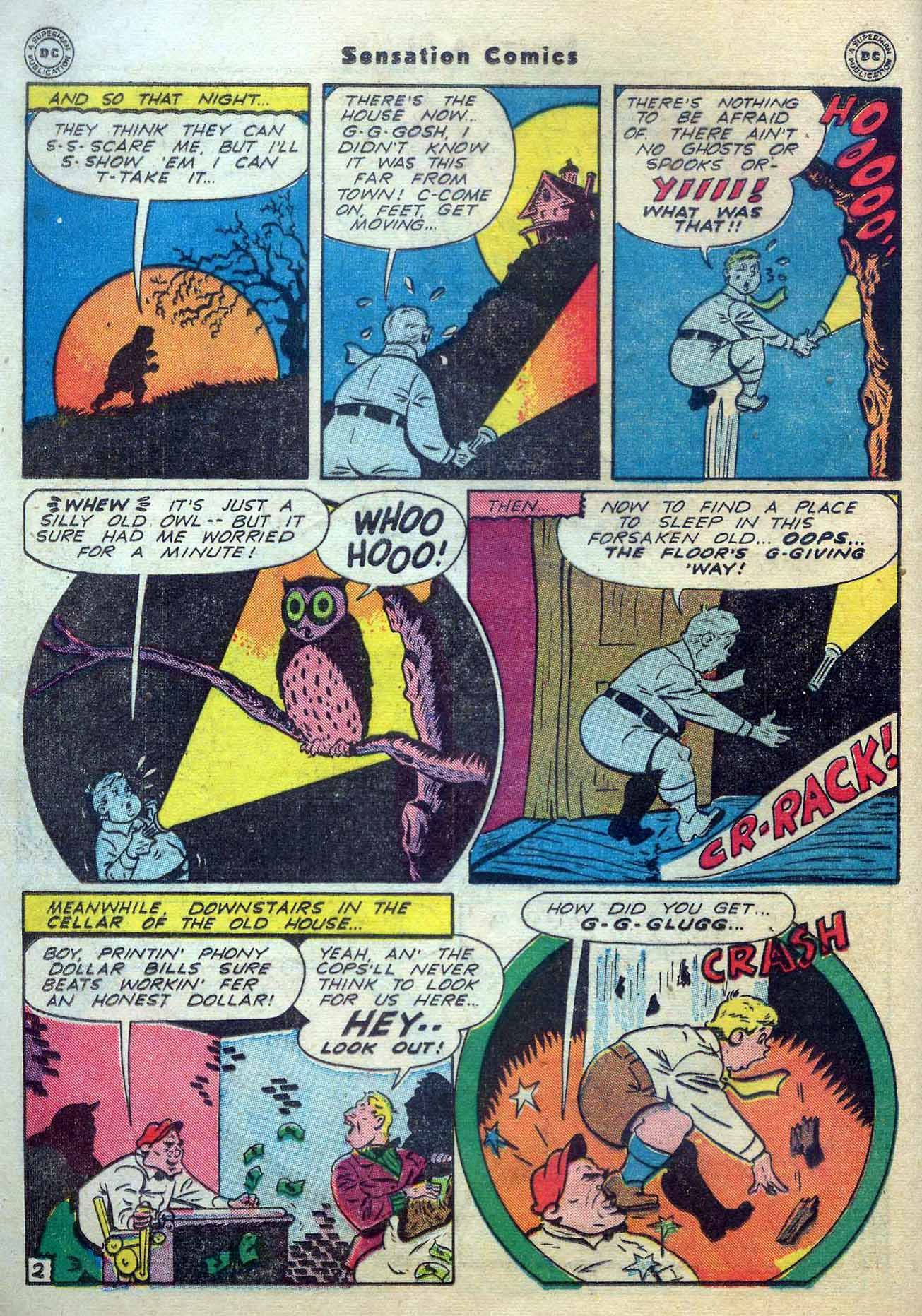 Read online Sensation (Mystery) Comics comic -  Issue #56 - 18