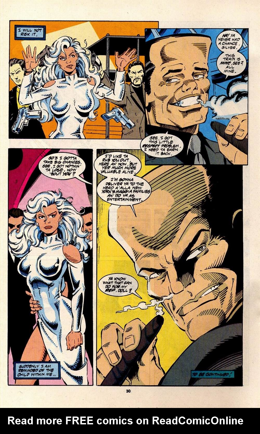 Read online Silver Sable and the Wild Pack comic -  Issue #31 - 23
