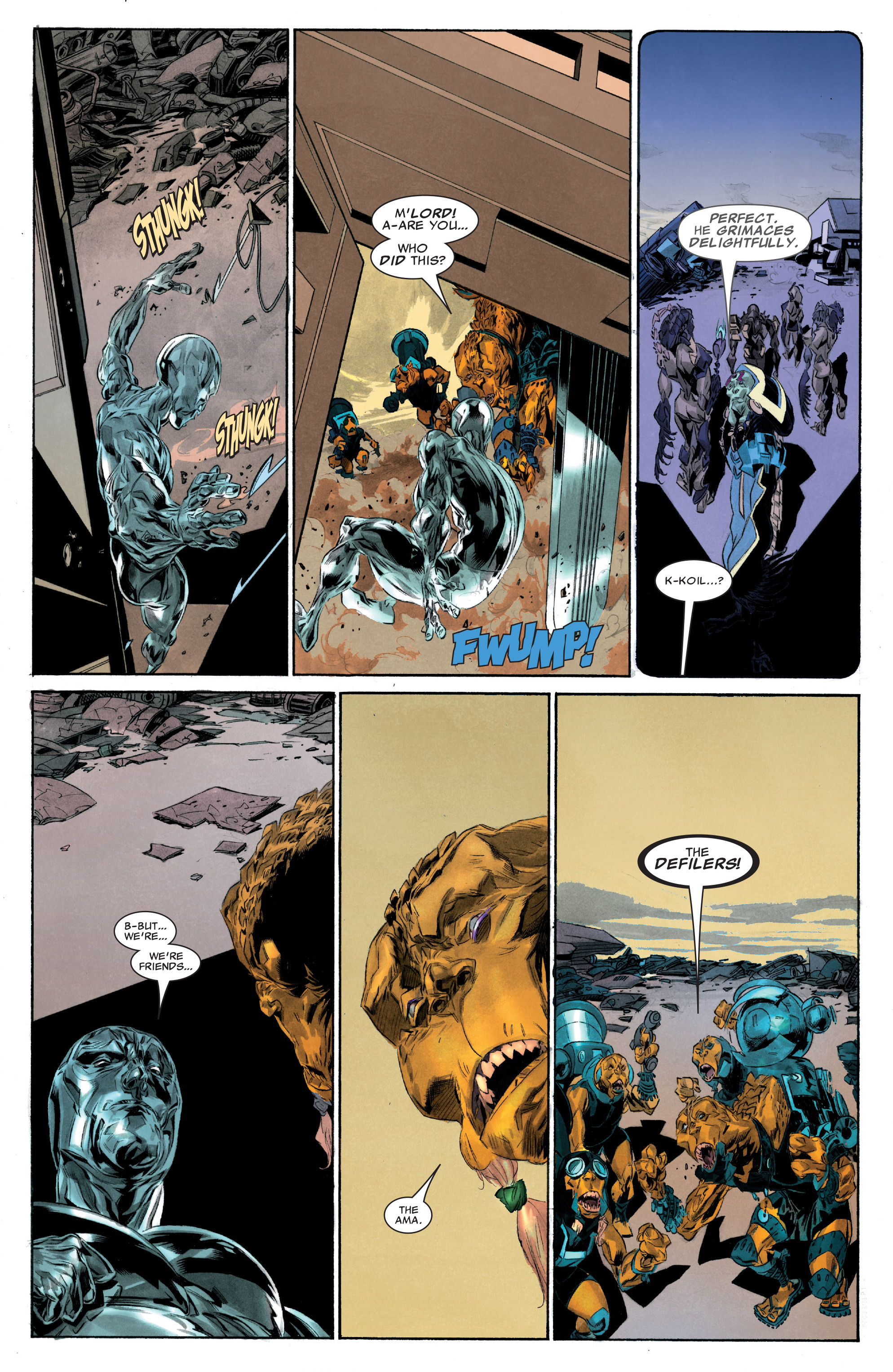 Read online Silver Surfer: In Thy Name comic -  Issue #3 - 6