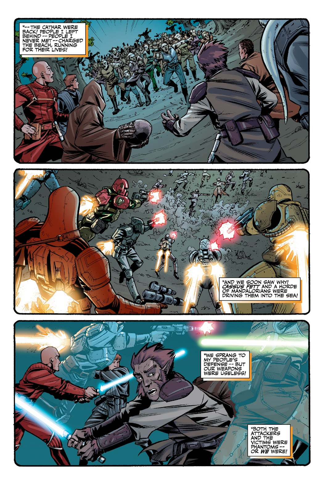 Read online Star Wars Legends: The Old Republic - Epic Collection comic -  Issue # TPB 3 (Part 2) - 8