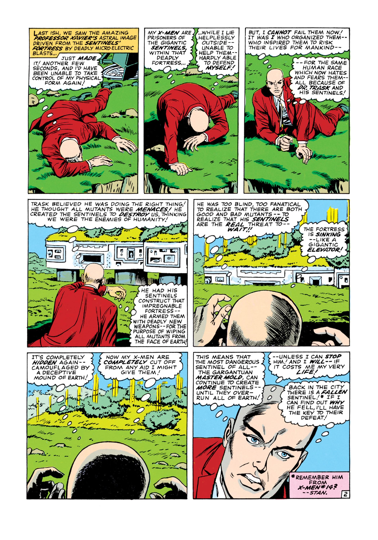 Read online Uncanny X-Men (1963) comic -  Issue #16 - 3