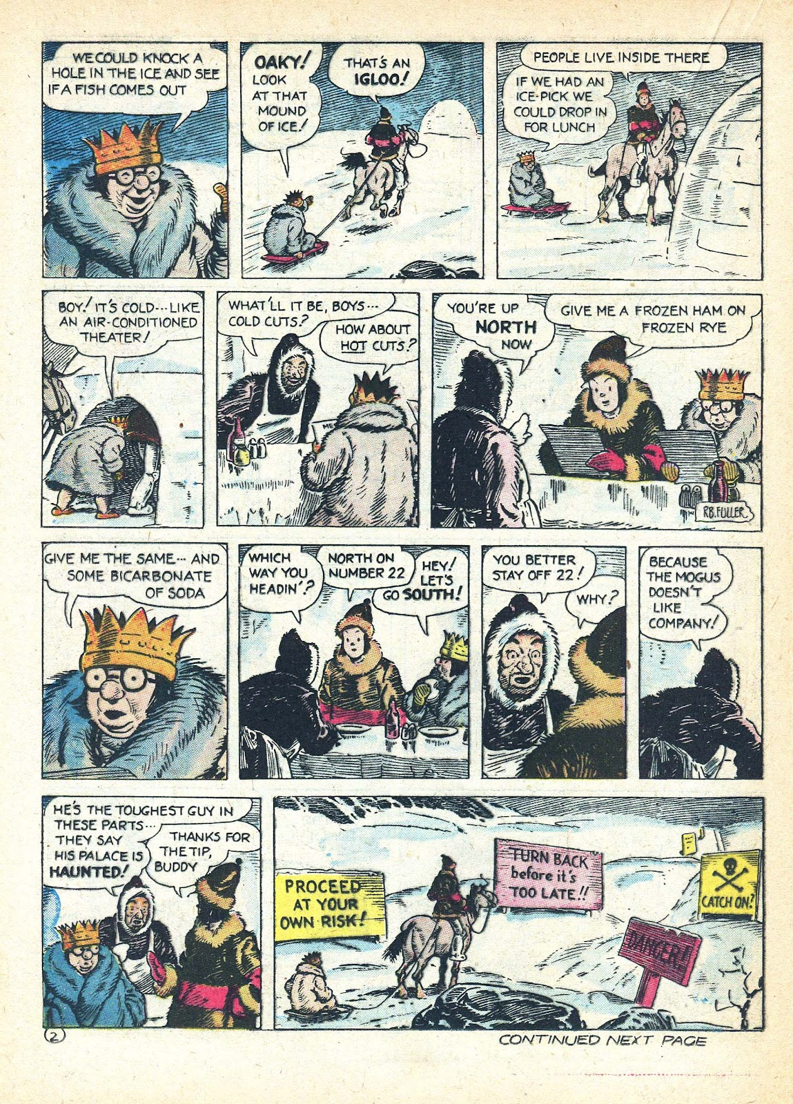 Read online Famous Funnies comic -  Issue #95 - 43
