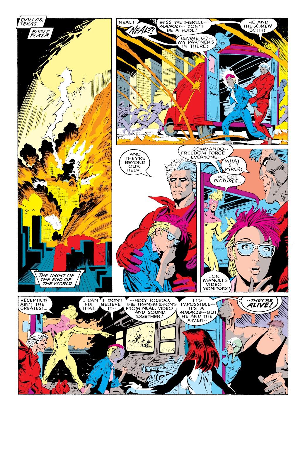 Read online X-Men Milestones: Fall of the Mutants comic -  Issue # TPB (Part 1) - 69