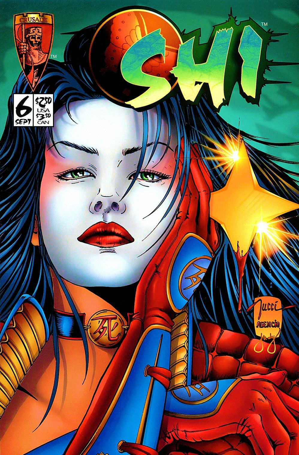 Read online Shi: The Way of the Warrior comic -  Issue #6 - 1
