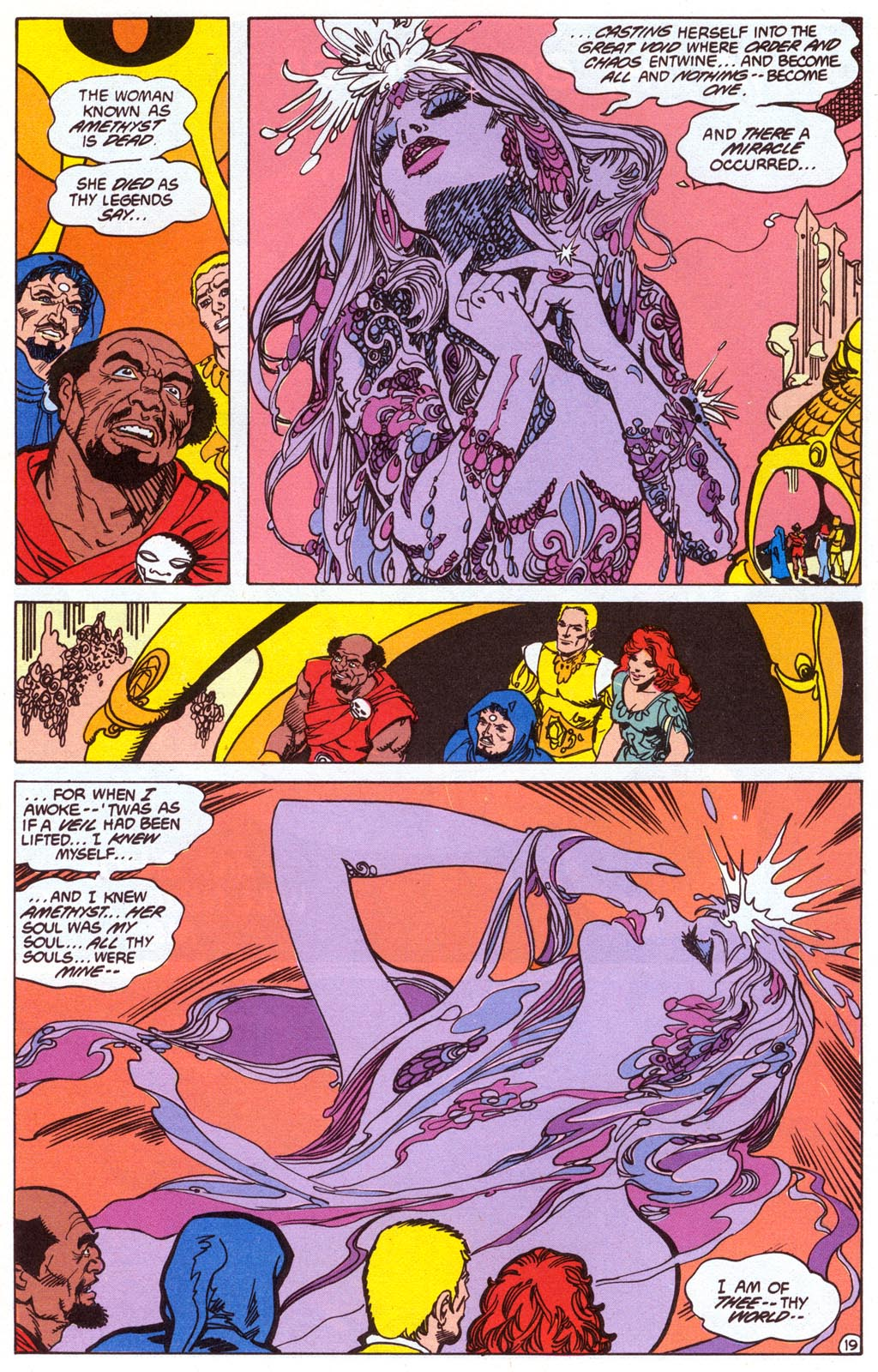 Read online Amethyst (1987) comic -  Issue #4 - 21