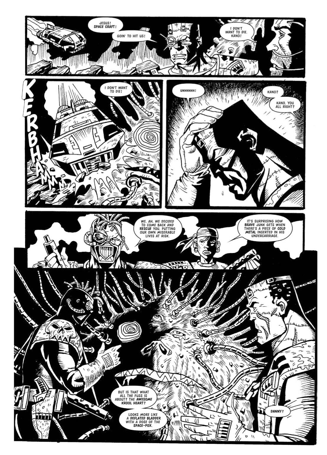 Read online The Complete Bad Company comic -  Issue # TPB - 354