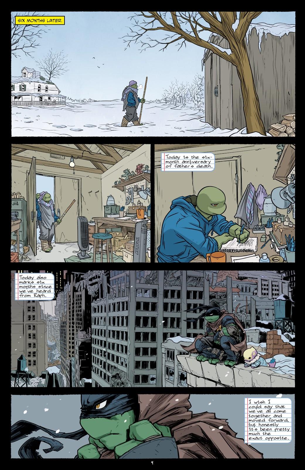 Read online Teenage Mutant Ninja Turtles (2011) comic -  Issue #101 - 6