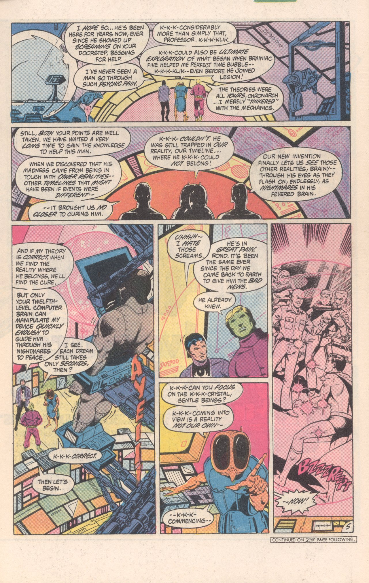 Legion of Super-Heroes (1980) 300 Page 5