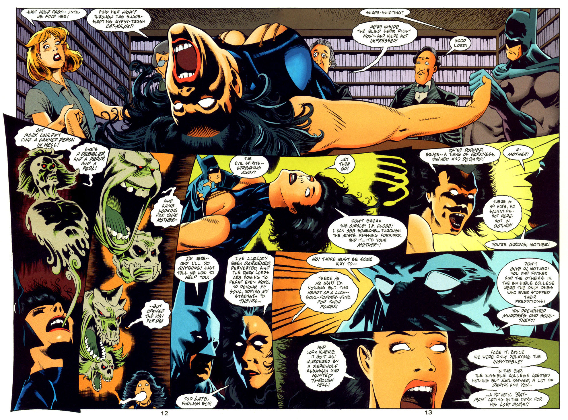 Read online Batman: Haunted Gotham comic -  Issue #4 - 13