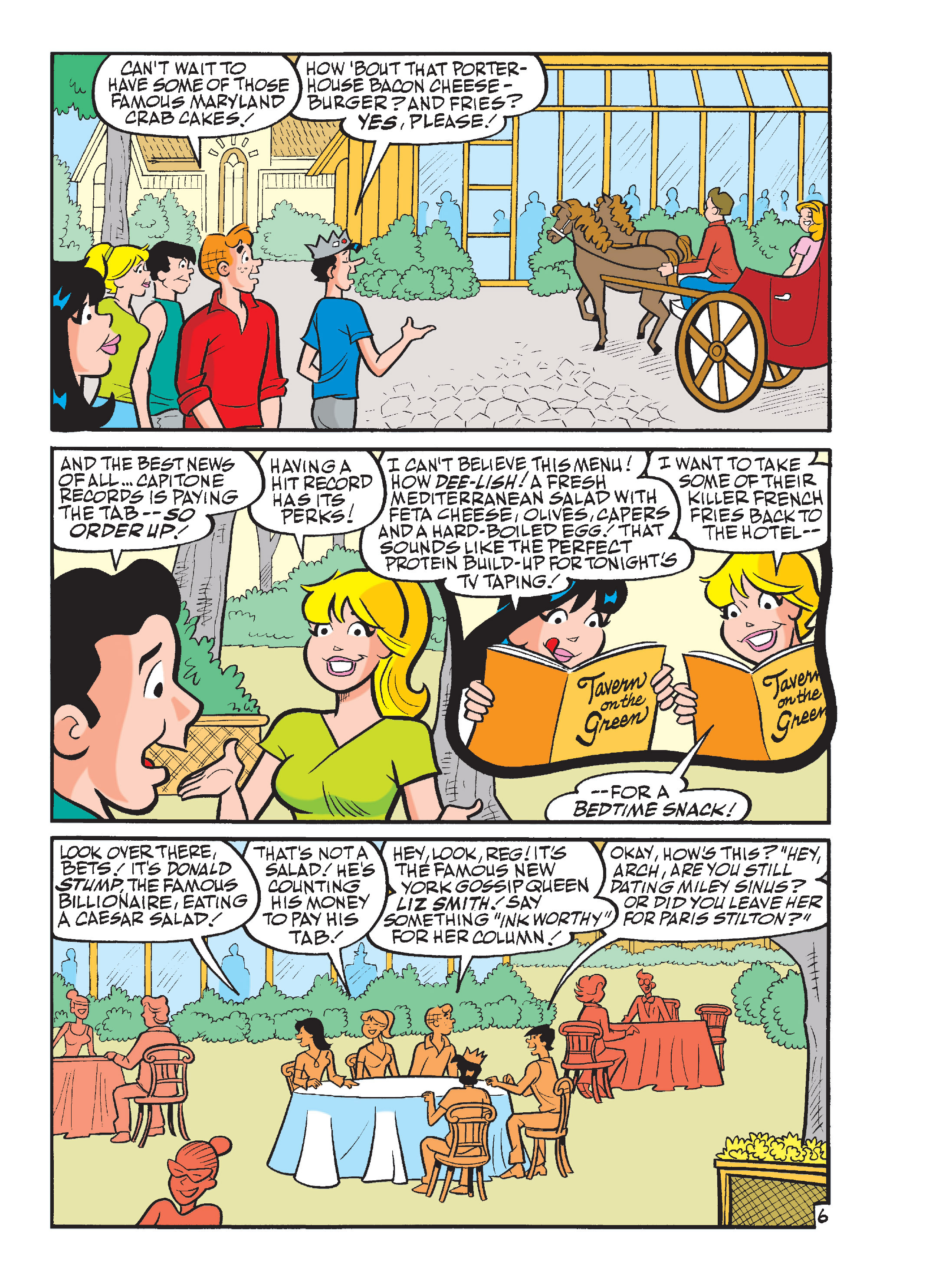 Read online Archie's Funhouse Double Digest comic -  Issue #15 - 66