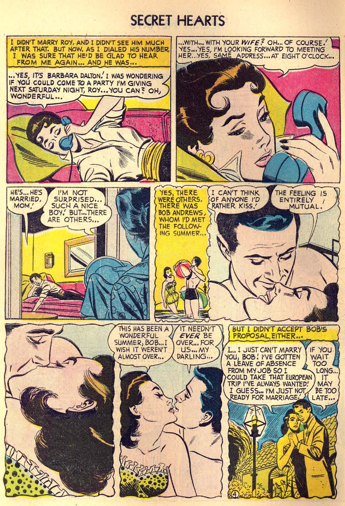 Read online Secret Hearts comic -  Issue #30 - 6