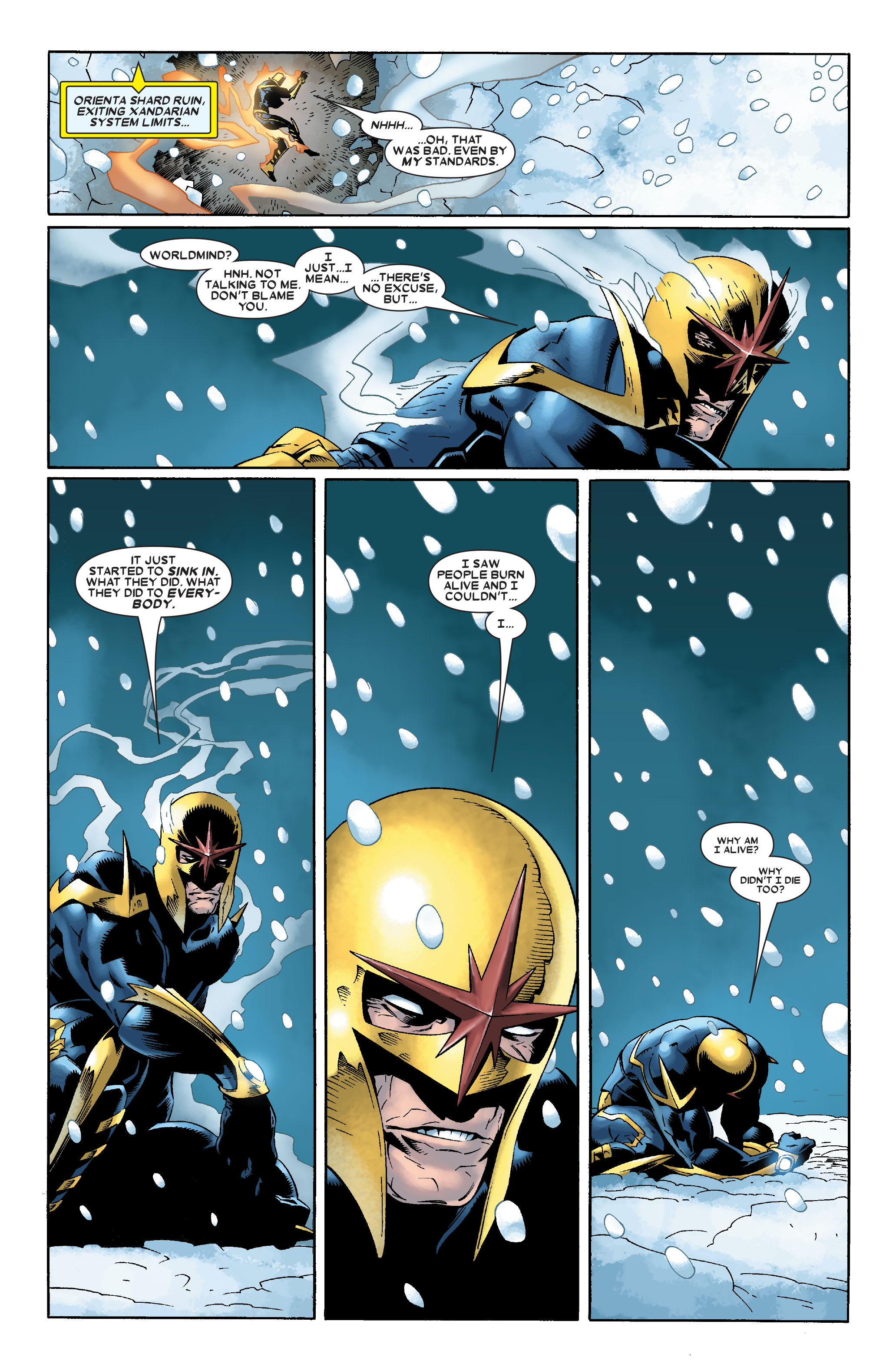 Read online Annihilation: Nova comic -  Issue #1 - 23
