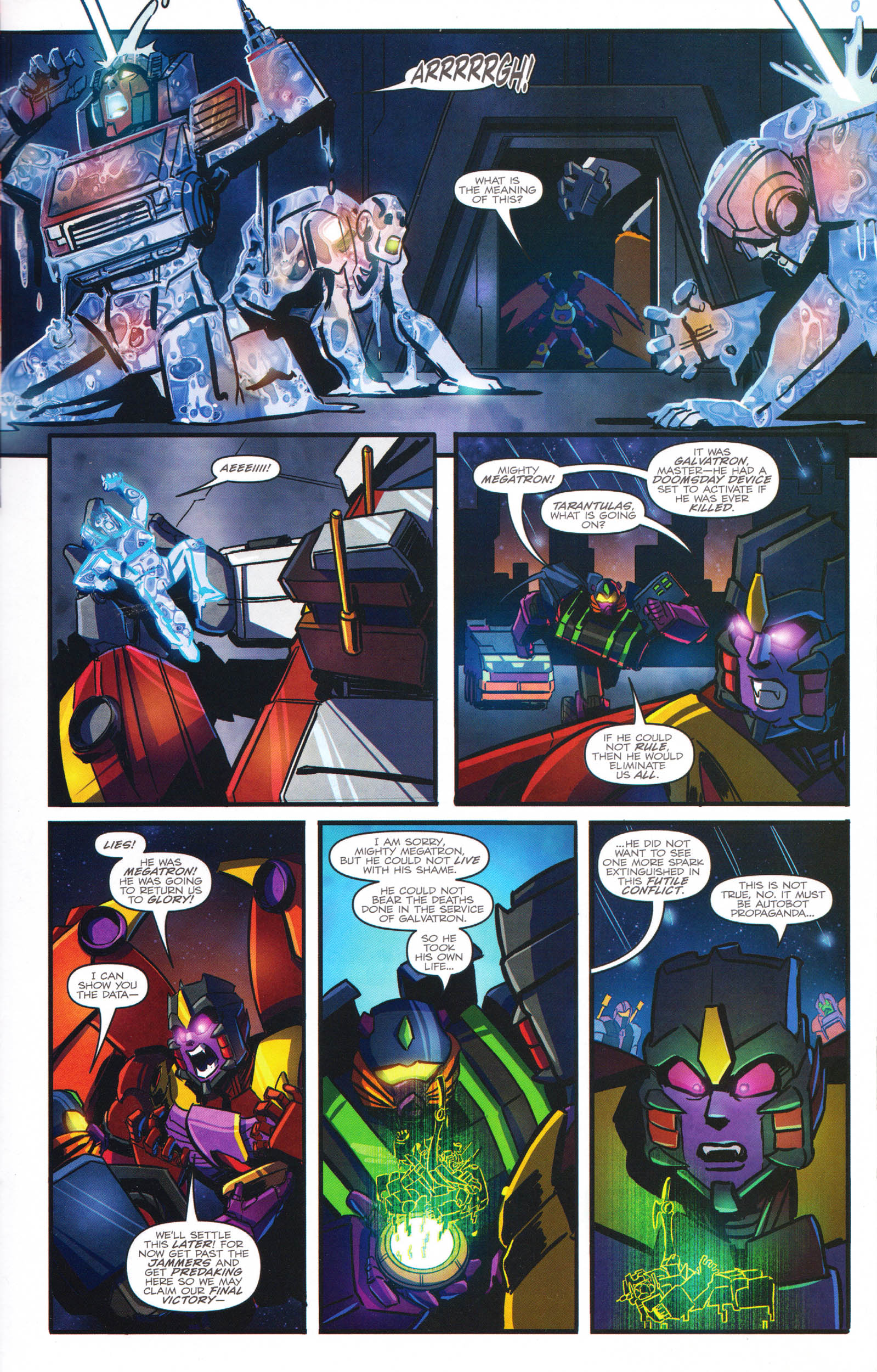 Read online Transformers: Dawn of the Predacus comic -  Issue # Full - 20