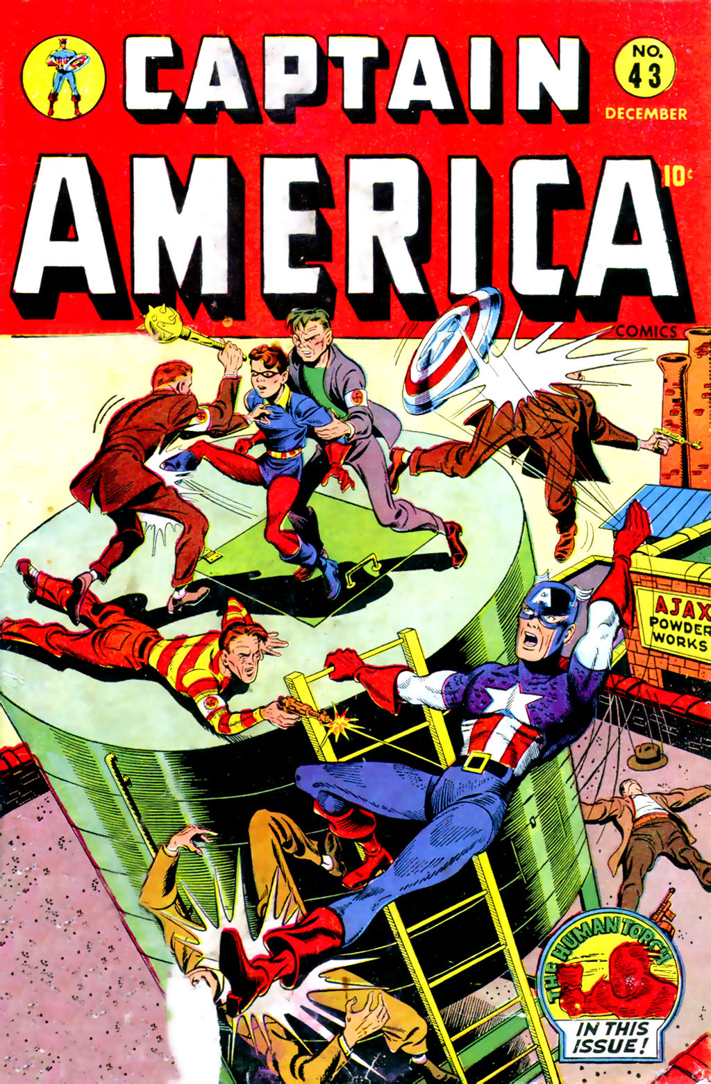 Captain America Comics 43 Page 1