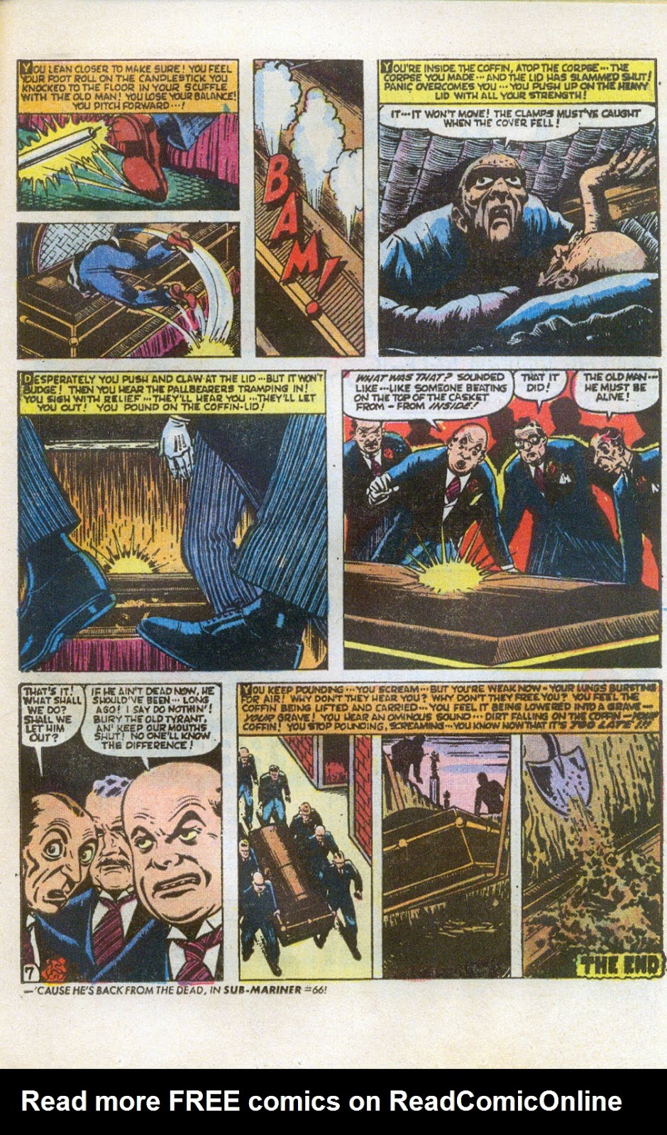 Crypt of Shadows (1973) issue 6 - Page 11
