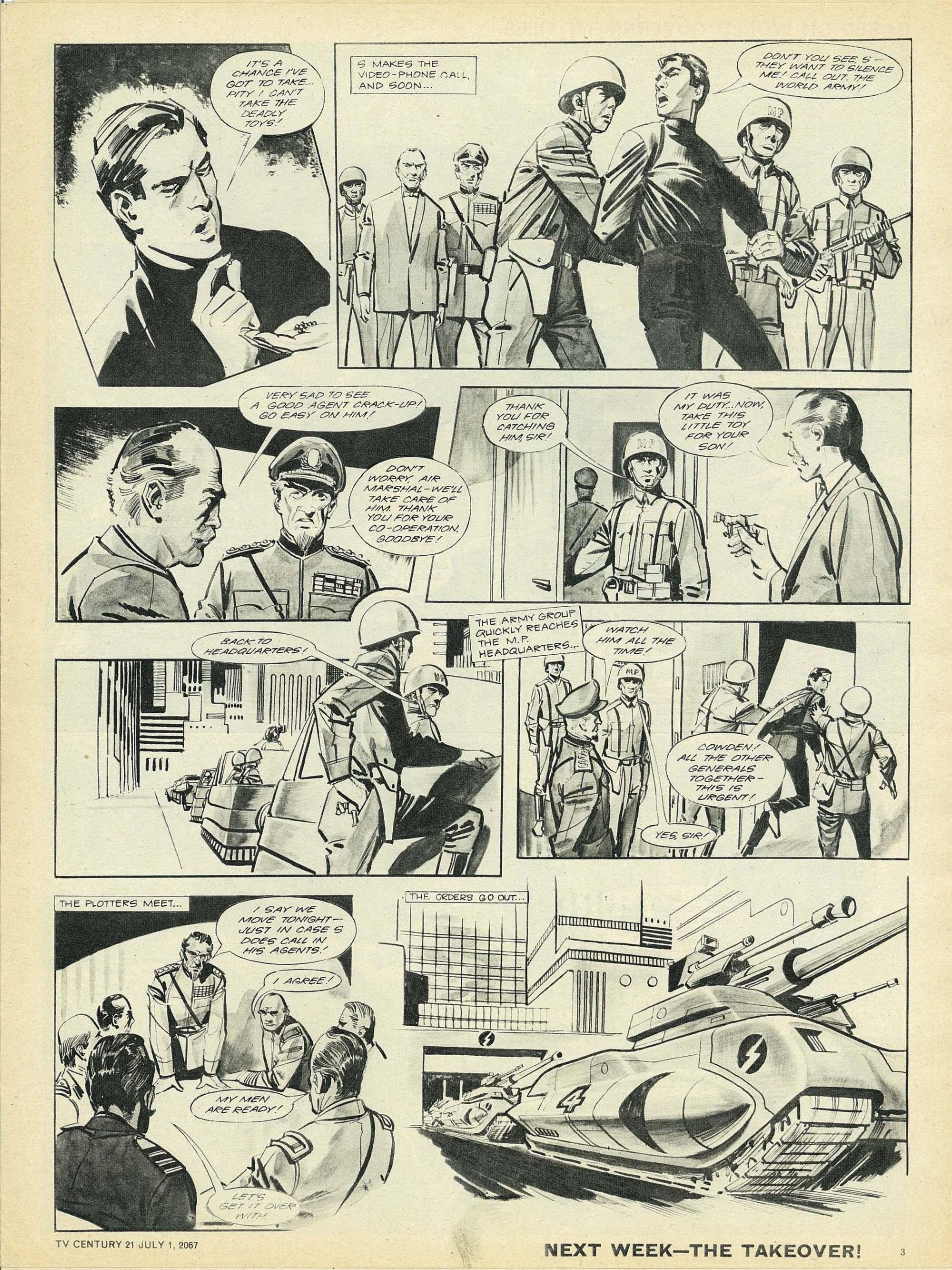 Read online TV Century 21 (TV 21) comic -  Issue #128 - 3