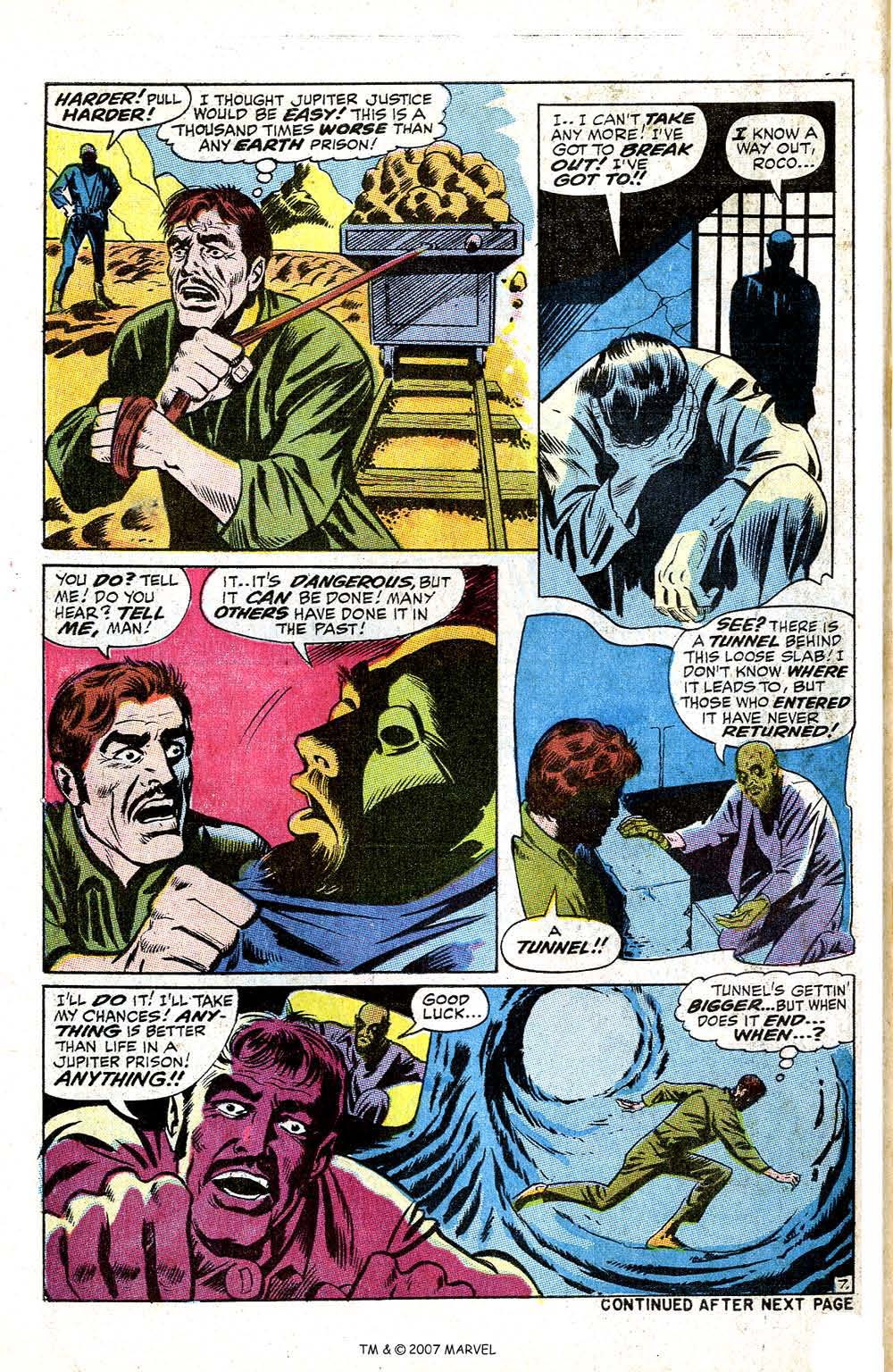 Read online Silver Surfer (1968) comic -  Issue #5 - 58